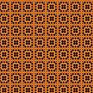 Gold Honeycomb by pjwuebker