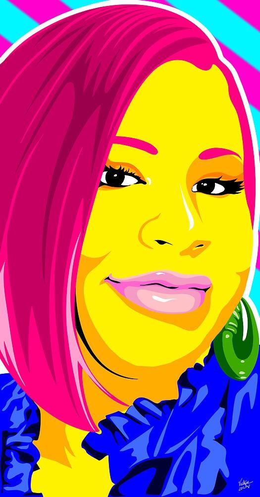 Vee's Pop Art: Commission 1 by Vestque