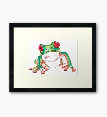 Froglet Framed Print
