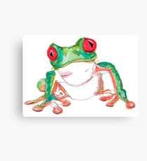 Froglet Canvas Print