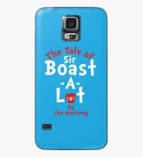 The Tale of Sir Boast-A-Lot (Just Title Variant) Case/Skin for Samsung Galaxy