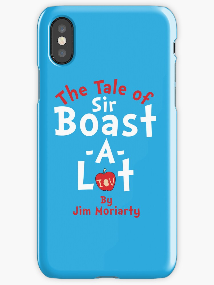 The Tale of Sir Boast-A-Lot (Just Title Variant) by huckblade