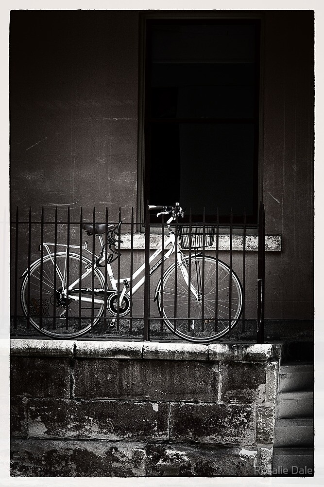 On your bike ... The Rocks  by Rosalie Dale