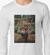 Ewok Thug Life Long Sleeve T-Shirt