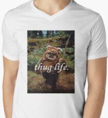 Ewok Thug Life Men's V-Neck T-Shirt