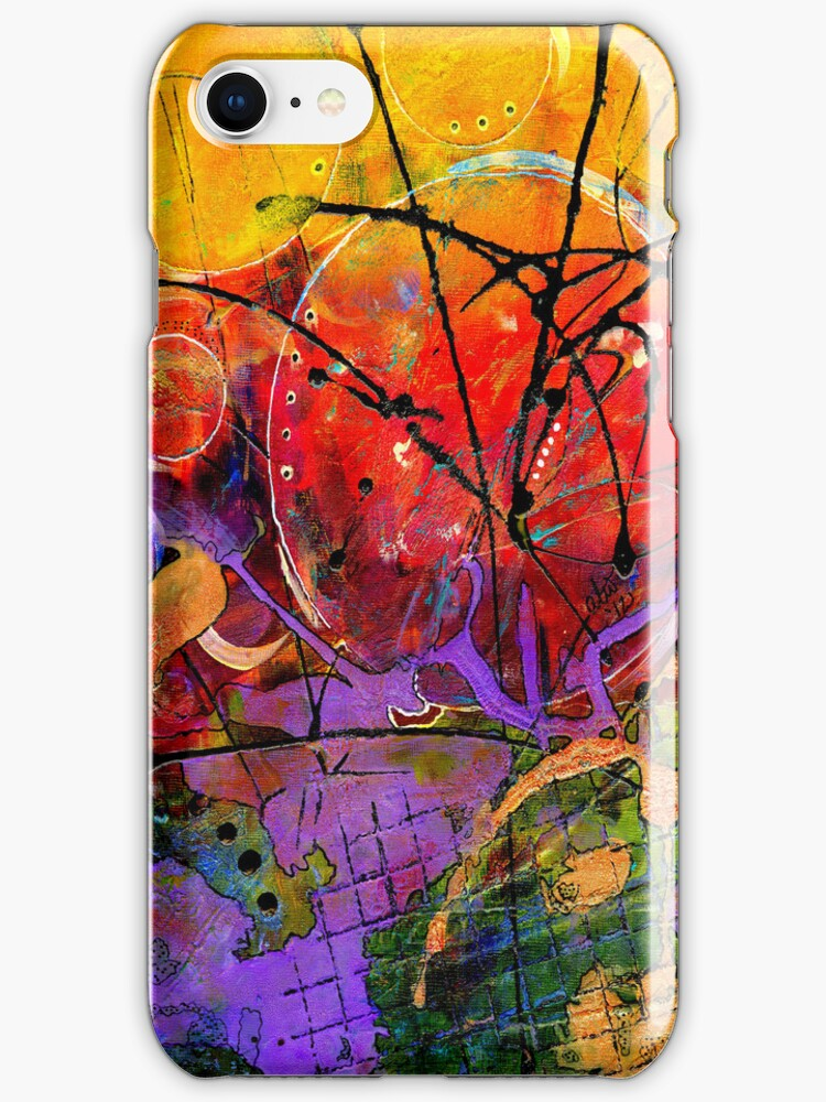 So Excited - iPhone Case by © Angela L Walker