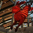 Red Rabbit by Barbara  Brown