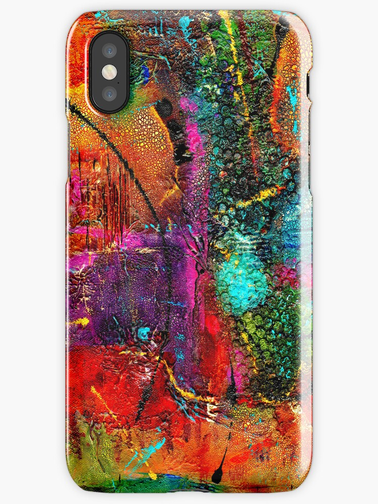 Earth and All Her Grandeur - iPhone Case by © Angela L Walker