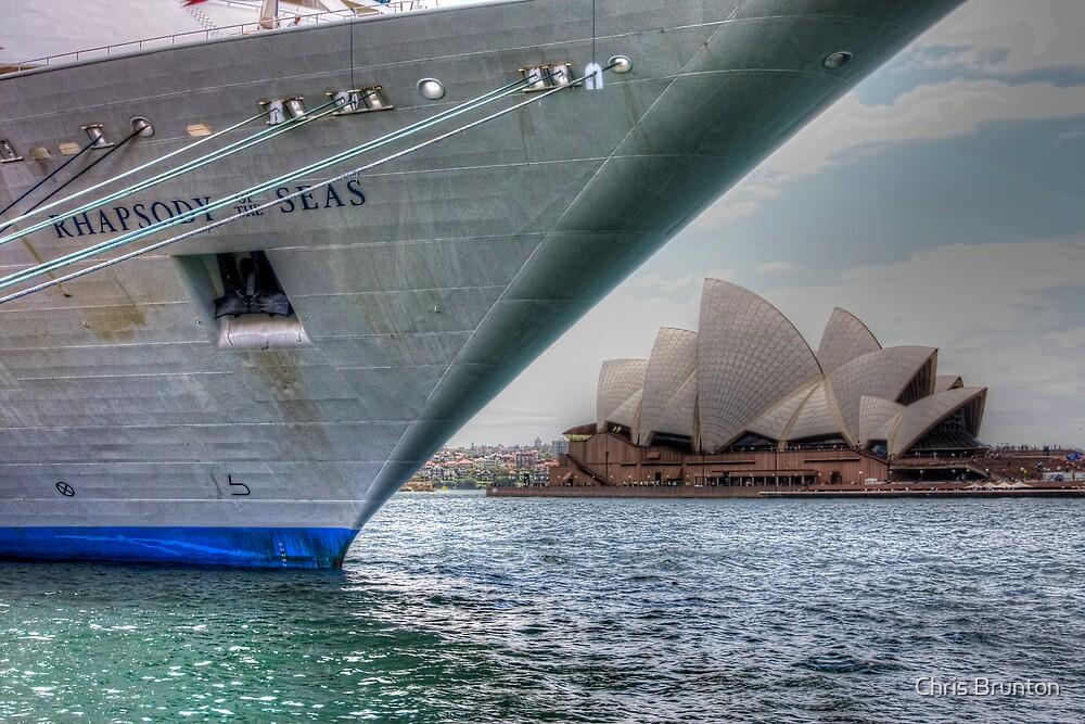 Rhapsody of the Seas by Chris Brunton