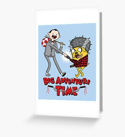 Big Adventure Time Greeting Card