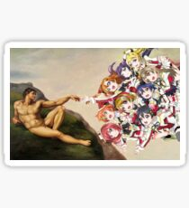 The Creation of Love Live! Sticker