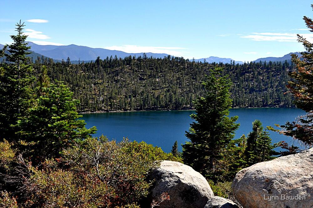 """""""Cascade Lake"""" by Lynn Bawden"""