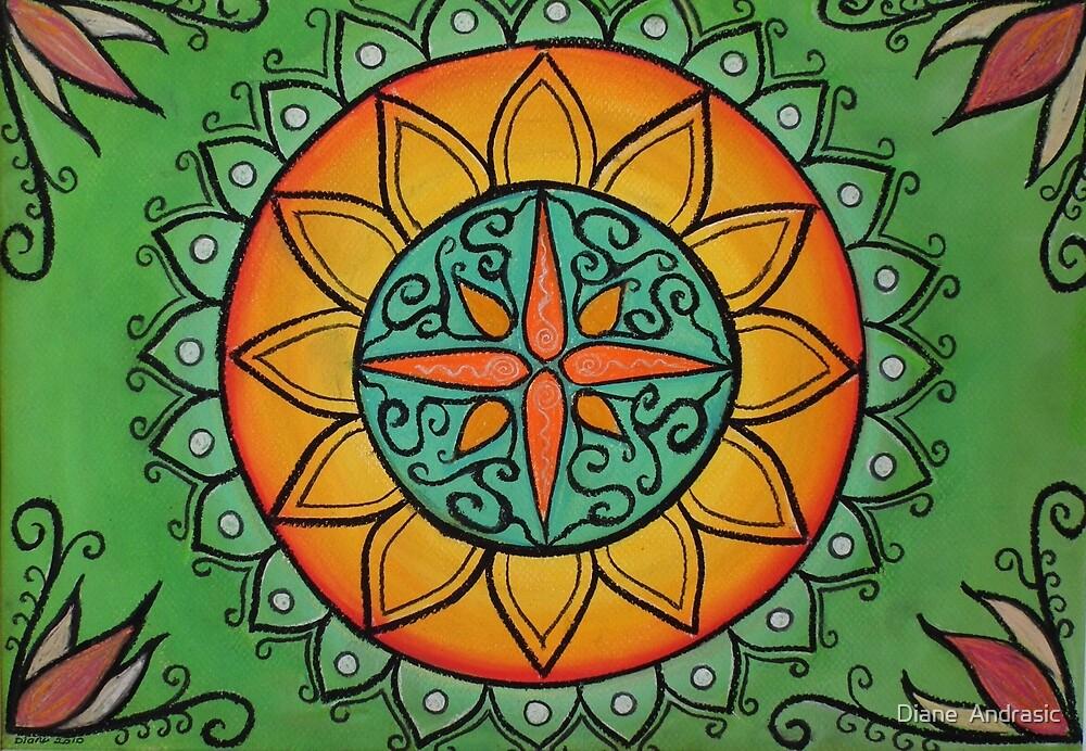 Quot Healing Mandala Quot By Diane Andrasic Redbubble