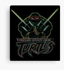 Neon Raphael - TMNT Canvas Print