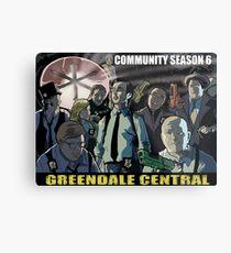 Greendale Central Metal Print
