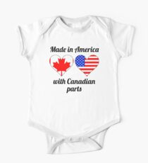 Made In America With Canadian Parts Kids Clothes