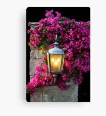 7pm And the Light Is On! Canvas Print