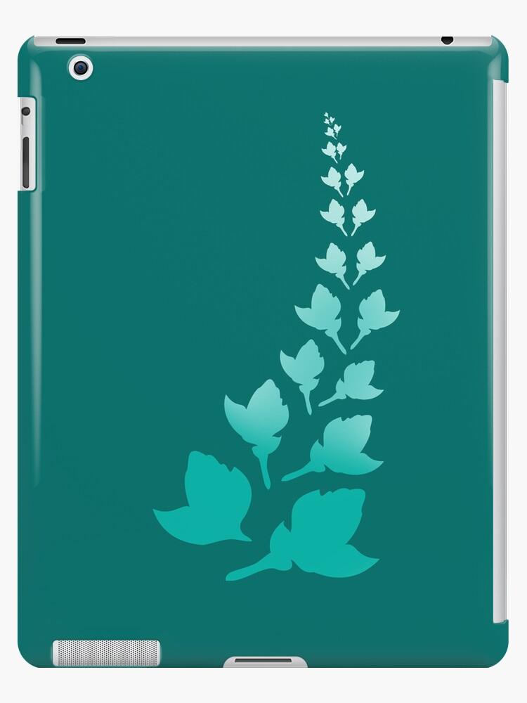 Teal [iPad / iPhone / iPod Case] by Didi Bingham