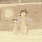 pair of angels by Karin Taylor