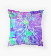 Purple Butterfly by Jan Marvin Throw Pillow