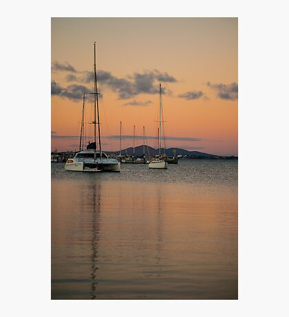Eastern Beach Sunset Photographic Print