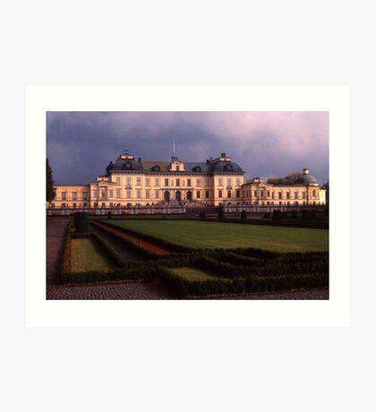 Drottingholm Palace, Sweden Art Print
