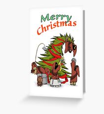 Merry Utini Xmas Greeting Card