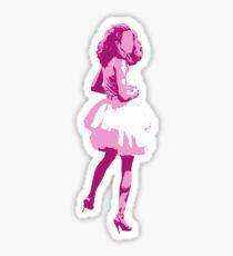 Carrie. Sticker