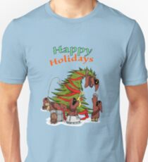 Happy Holidays from your little friends Unisex T-Shirt