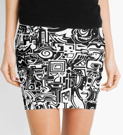 BW Mini Skirt
