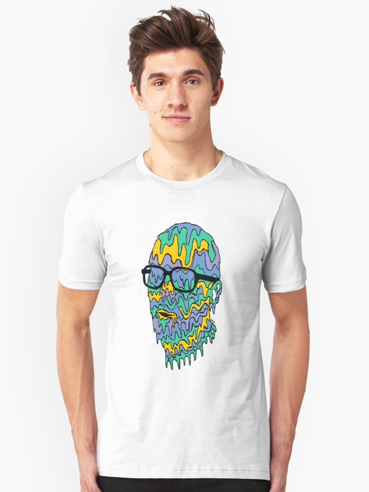 My Face Is Leaking Unisex T-Shirt Front