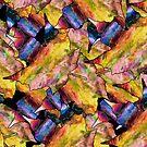 Digital Fall Maple Leaves by pjwuebker