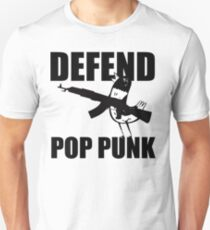 Hank The Pigeon, Defend Pop Punk Unisex T-Shirt