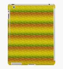 Yellow Orange and Green Sand Dunes iPad Case/Skin