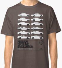 Nissan Skyline History Classic T-Shirt