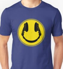 DJ Smiley Platter - Smile Happy T-Shirt