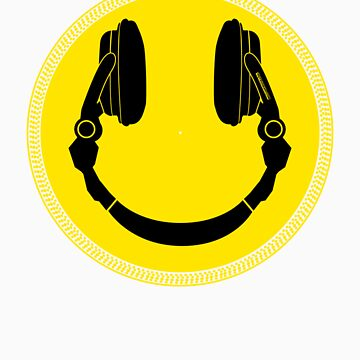 DJ Smiley Platter - Smile Happy by HOTDJGEAR