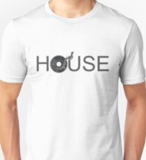 House Vinyl - Music Turntable DJ Unisex T-Shirt
