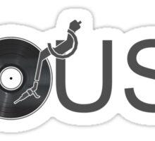 House Vinyl - Music Turntable DJ Sticker