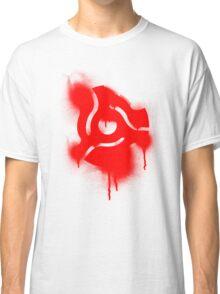 Graffiti 45 Adapter - Disc Jockey Vinyl Classic T-Shirt