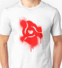 Graffiti 45 Adapter - Disc Jockey Vinyl Unisex T-Shirt