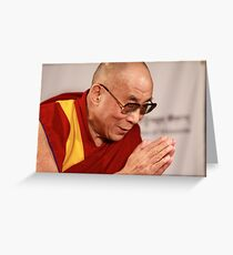 His Holiness Greeting Card