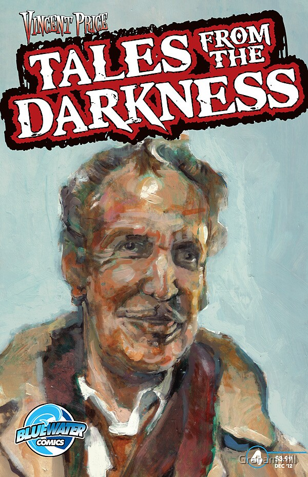 Vincet Price:Tales From The darkness #4 by Graham Hill