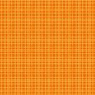Orange and Yellow Plaid by pjwuebker