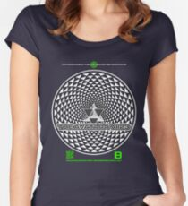 THE AVATARA VII23 TETRASTAR PHI NOV 2012 MERCH Women's Fitted Scoop T-Shirt