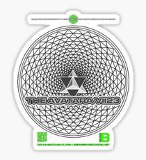 THE AVATARA VII23 TETRASTAR PHI NOV 2012 MERCH Sticker
