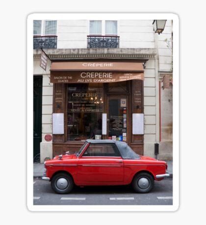 Autobianchi in Paris Sticker