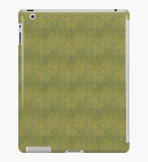 Grungy Yellow Micro Dots iPad Case/Skin