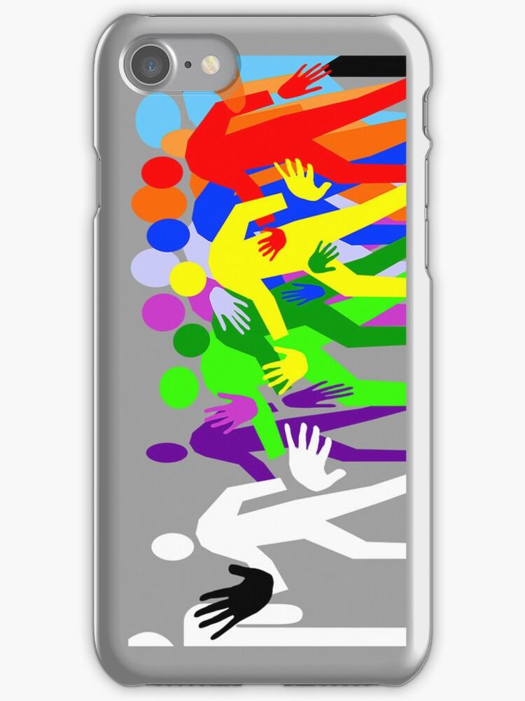 Crosswalk iPhone case by Richard G Witham