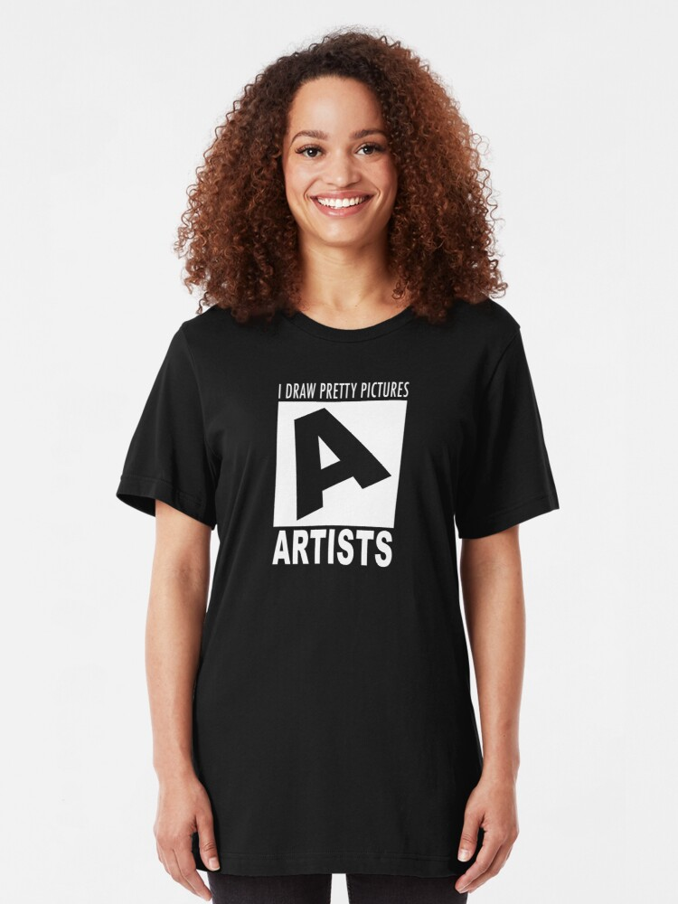 Alternate view of Artists rating Slim Fit T-Shirt